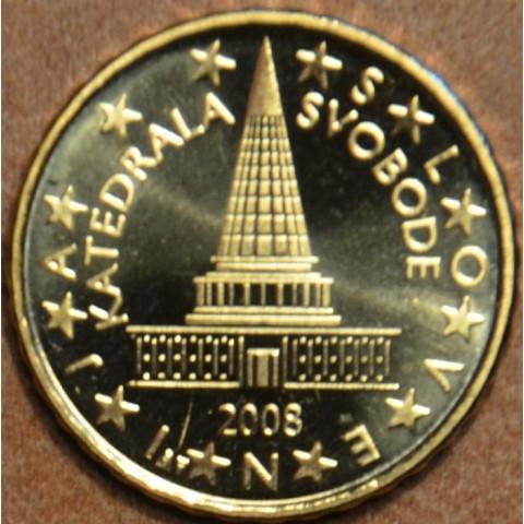 10 cent Slovinsko 2008 (UNC)