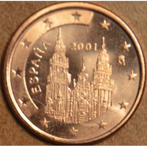 1 cent Španielsko 2001 (UNC)