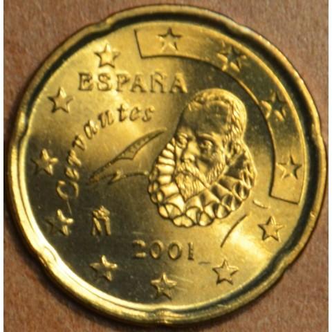 20 cent Spain 2001 (UNC)