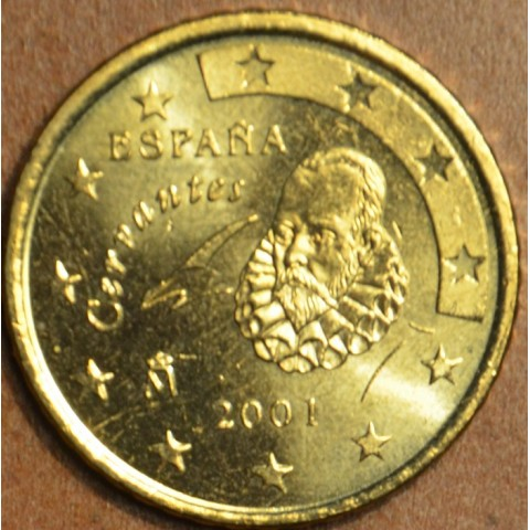 50 cent Spain 2001 (UNC)