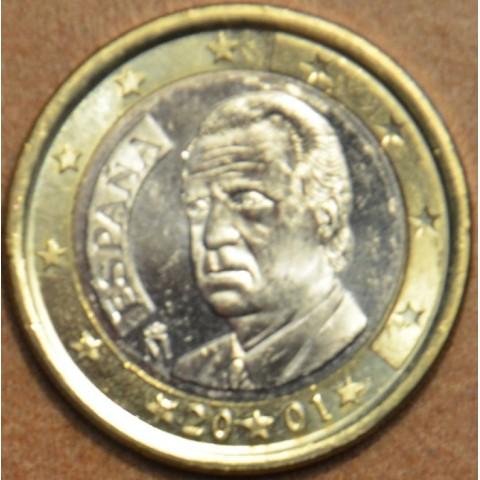 1 Euro Spain 2001 (UNC)