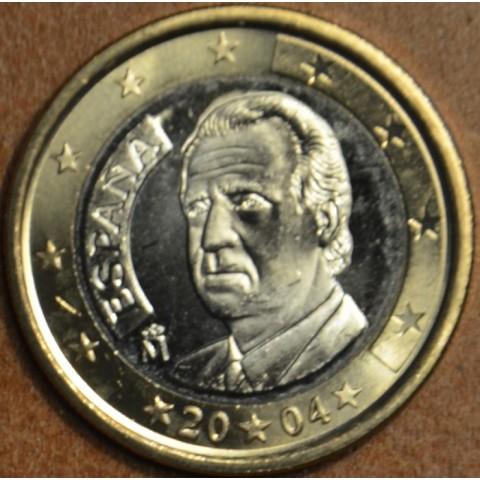 1 Euro Španielsko 2004 (UNC)
