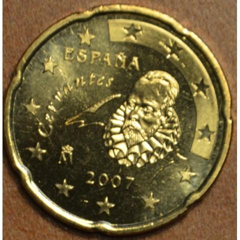 20 cent Španielsko 2007 (UNC)