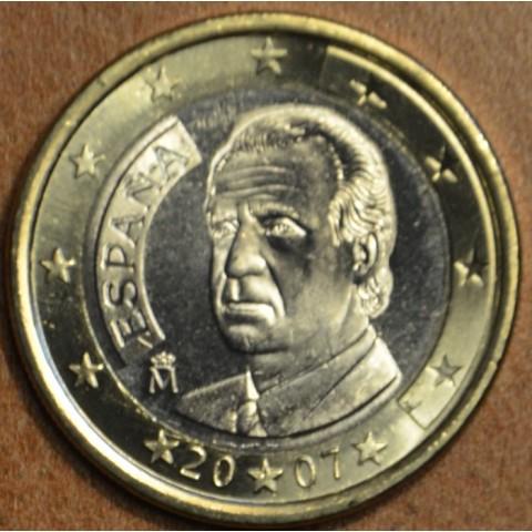 1 Euro Španielsko 2007 (UNC)