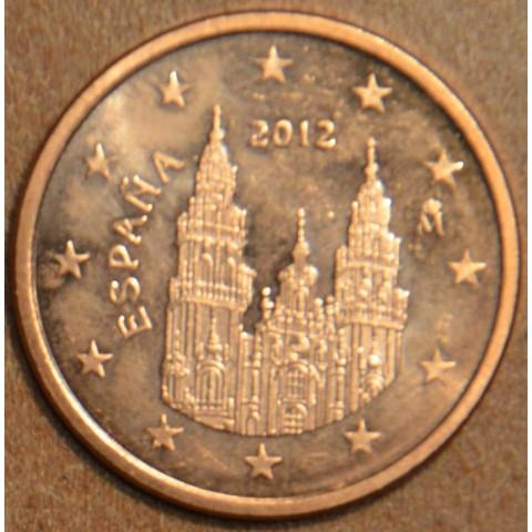 2 cent Spain 2012 (UNC)