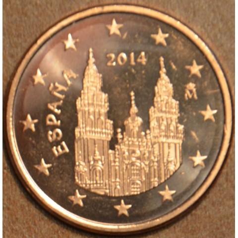 1 cent Spain 2014 (UNC)