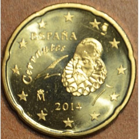 20 cent Spain 2014 (UNC)