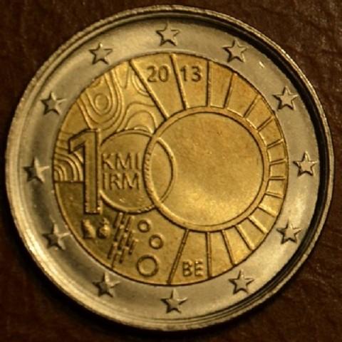 2 Euro Belgium 2013 - 100th anniversary of the Royal Meteorological Institute (UNC)