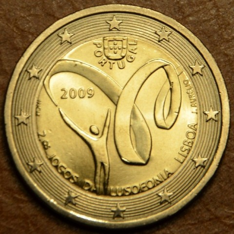 2 Euro Portugal 2009 - Lusophony Games (UNC)