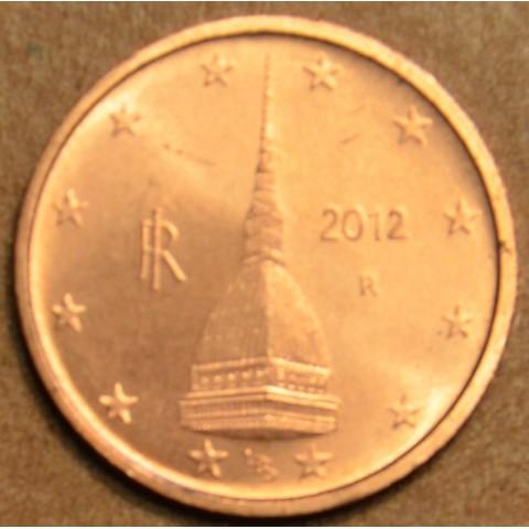 2 cent Taliansko 2012 (UNC)