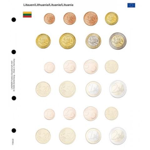 Sady Litva a 2 prázdne do Lindner albumu