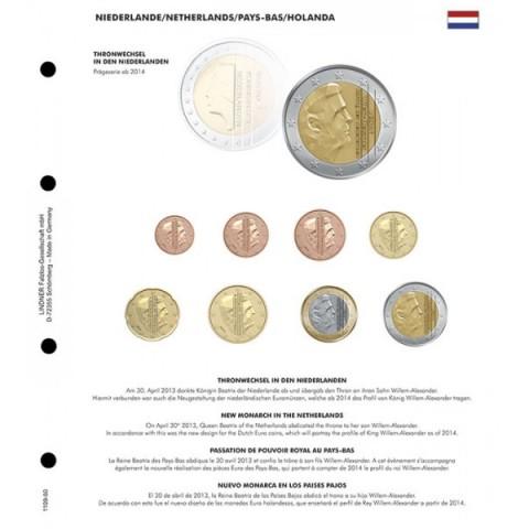 Nový kráľ Holandska 2014 do Lindner albumu