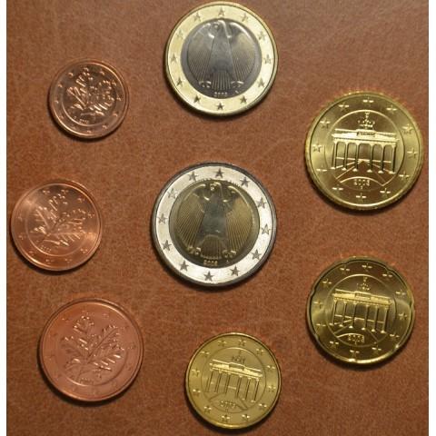 """Sada 8 nemeckých mincí 2003 """"J"""" (UNC)"""