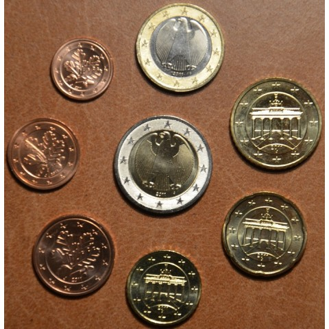 """Set of 8 coins Germany 2011 """"F"""" (UNC)"""