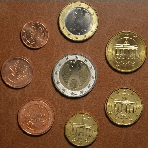 "Set of 8 coins Germany 2006 ""A"" (UNC)"