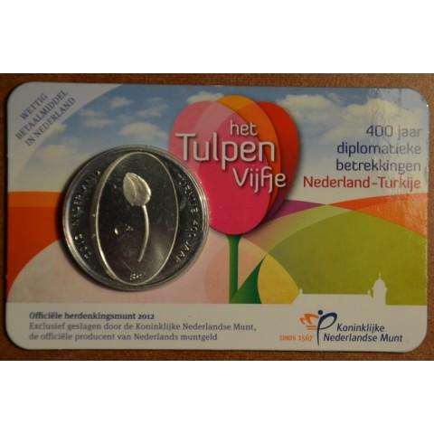 5 Euro Netherlands 2012 - Tulip (BU card)