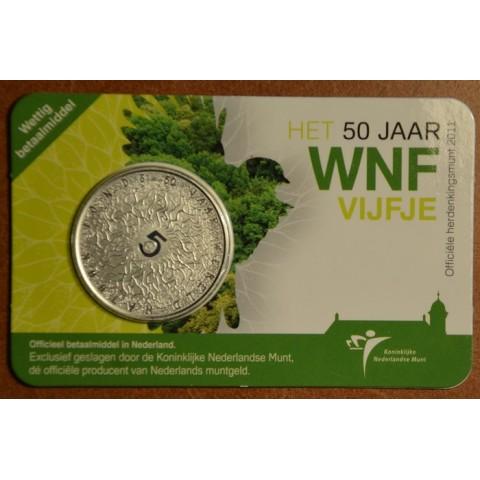 5 Euro Netherlands 2011 - 50 years of WNF (BU card)
