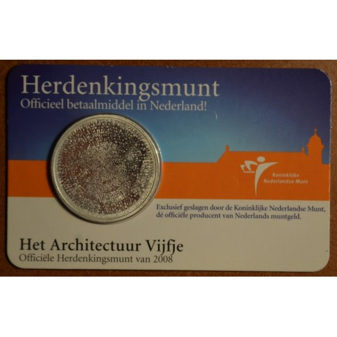 5 Euro Netherlands 2008 - Architecture (BU card)