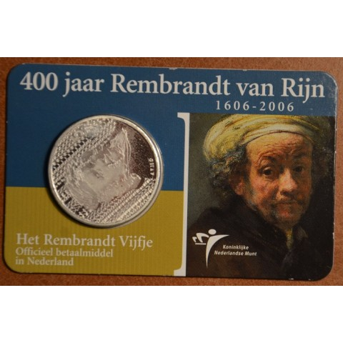 5 Euro Netherlands 2006 - Rembrandt (BU card)