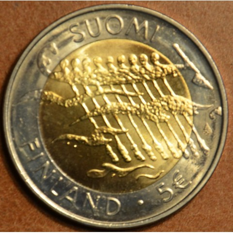 5 Euro Finland 2007 - 90 years of Finland (UNC)
