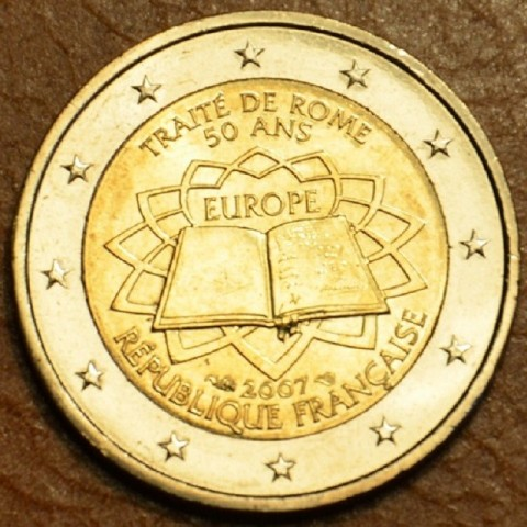 2 Euro France 2007 - 50th anniversary of the Treaty of Rome (UNC)