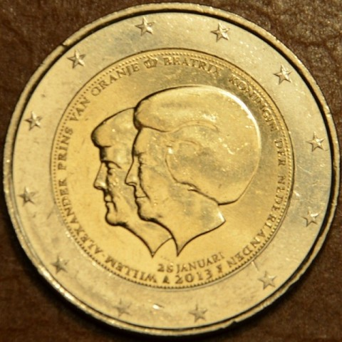 2 Euro Netherlands 2013 - Double portrait (UNC)