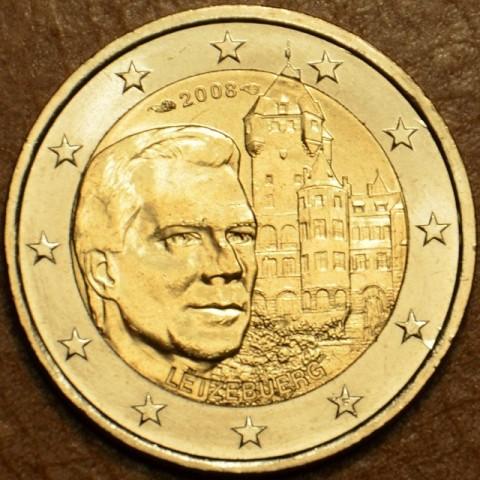 "2 Euro Luxemburgsko 2008 - Henri a zámok ""Château de Berg""  (UNC)"