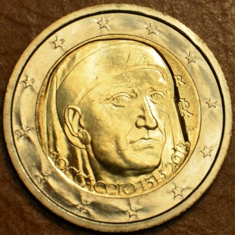 2 Euro Italy 2013 - 700th Anniversary of the Birth of Giovanni Boccaccio (UNC)