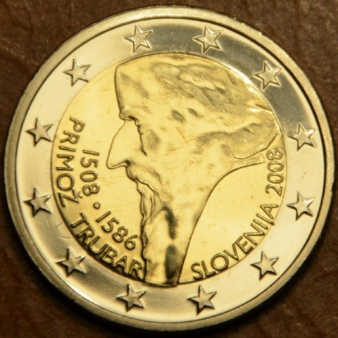 2 Euro Slovenia 2008 - 500th anniversary of Primož Trubar's birth (UNC)