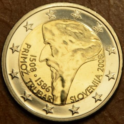 2 Euro Slovinsko 2008 - 500. výročie narodenia Primoža Trubara (UNC)