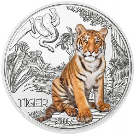 3 Euro Austria 2017 Tiger (UNC)