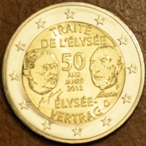 "2 Euro Nemecko ""F"" 2013 - 50. výročie Elizejskej zmluvy (UNC)"