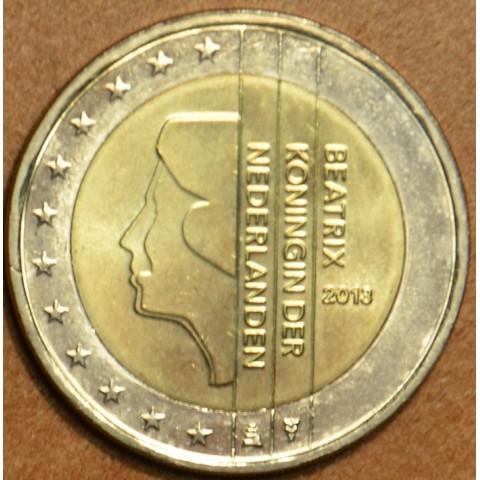 2 Euro Holandsko 2013 - Kráľovná Beatrix (UNC)