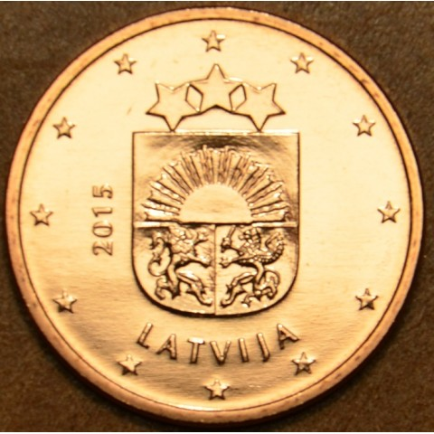 5 cent Latvia 2015 (UNC)