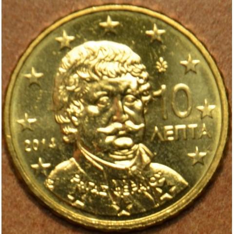 10 cent Grécko 2014 (UNC)