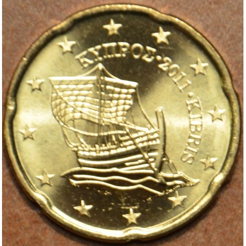 20 cent Cyprus 2011 (UNC)