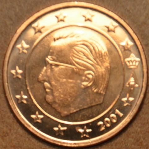 1 cent Belgicko 2001 (UNC)