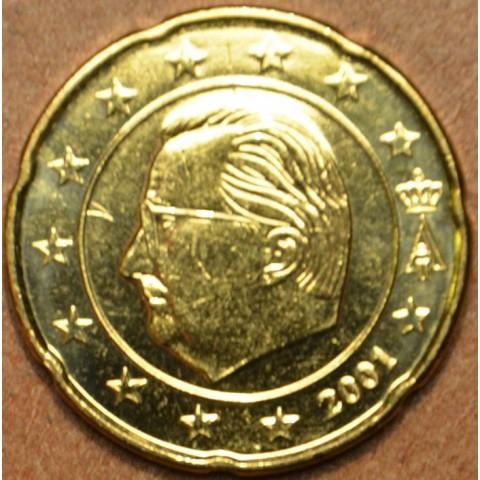 20 cent Belgicko 2001 (UNC)