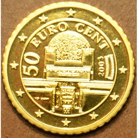 50 cent Rakúsko 2003 (UNC)