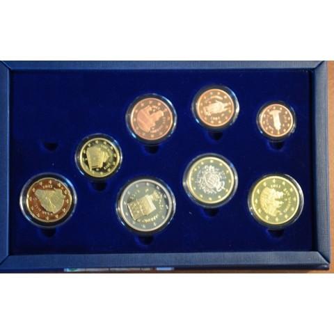 Set of 8 Euro coins San Marino 2013 (Proof)
