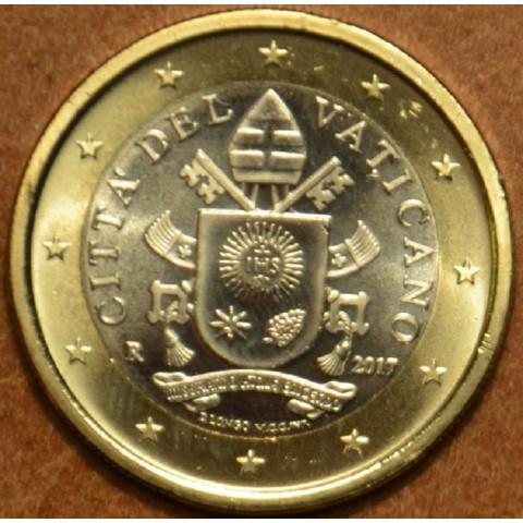 1 Euro Vatikán 2017 (BU)