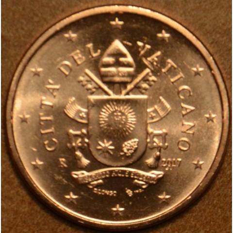5 cent Vatikán 2017 (BU)