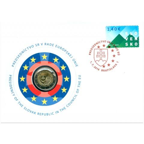 2 Euro Slovakia 2016 - EU presidency  (UNC)