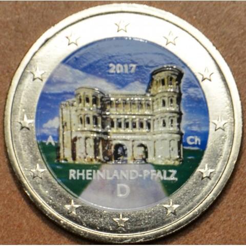 "2 Euro Germany ""A"" 2017 - Rheinland-Pfalz: Porta Nigra (colored UNC)"