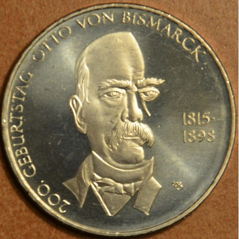 """10 Euro Nemecko """"A"""" 2015 Otto von Bismarck (UNC)"""
