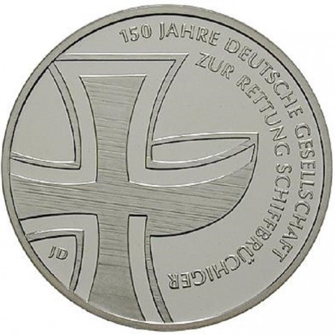 "10 Euro Germany ""J"" 2015 Schiffbruchiger (UNC)"