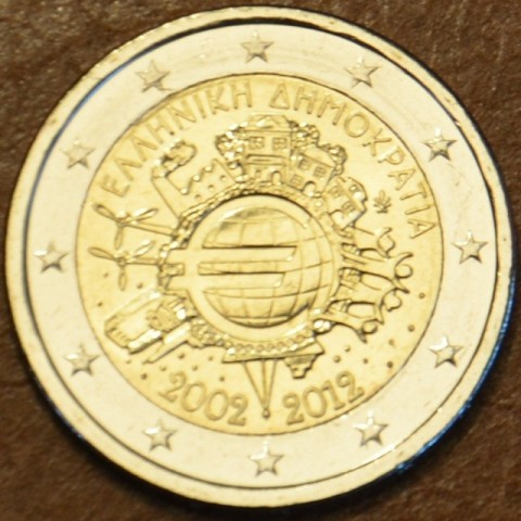 2 Euro Greece 2012 - Ten years of Euro  (UNC)