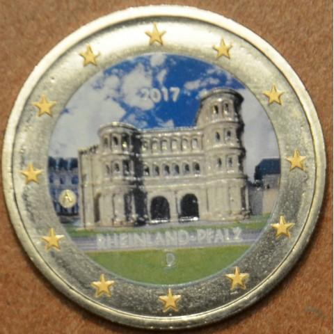 "2 Euro Germany ""A"" 2017 - Rheinland-Pfalz: Porta Nigra II. (colored UNC)"
