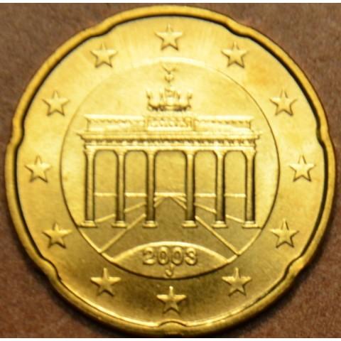 "20 cent Germany ""J"" 2003 (UNC)"
