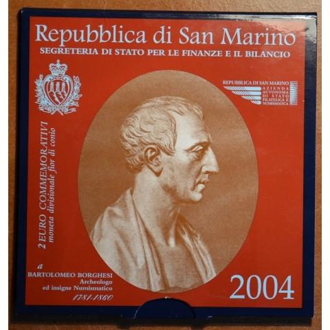 2 Euro San Marino 2004 - Bartolomeo Borghesi (BU)